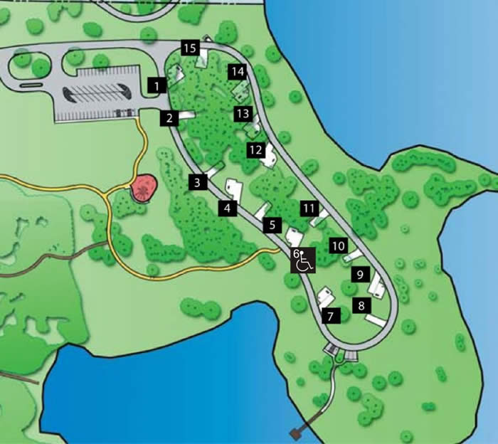 RV Campsite Map