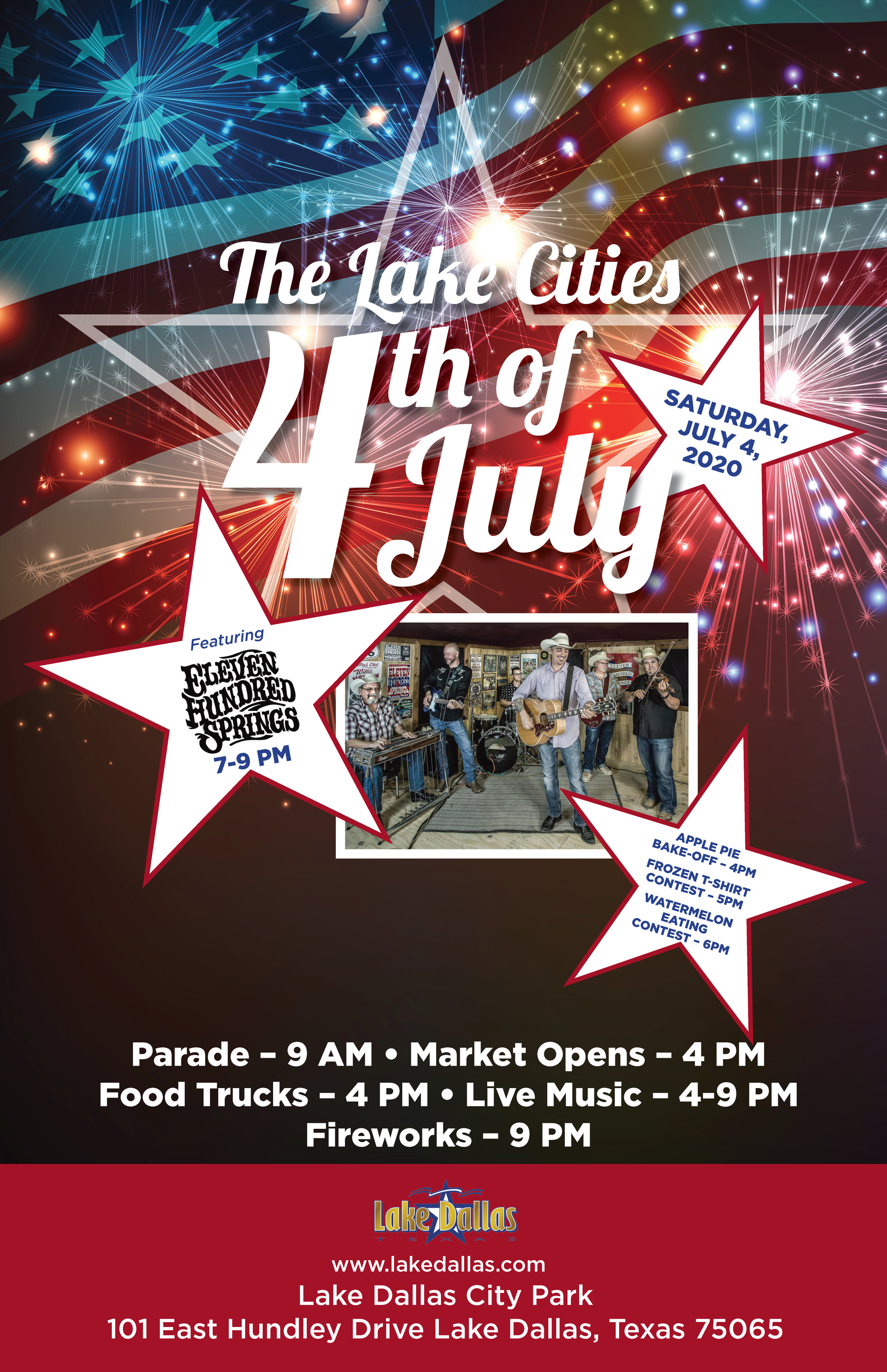 2020 The Lake Cities 4th of July Poster (002)