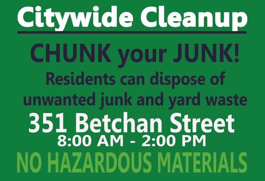 Citywide Cleanup Banner 03 18 2017