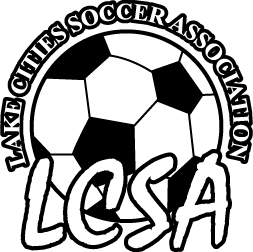 Lake Cities Soccer Association logo