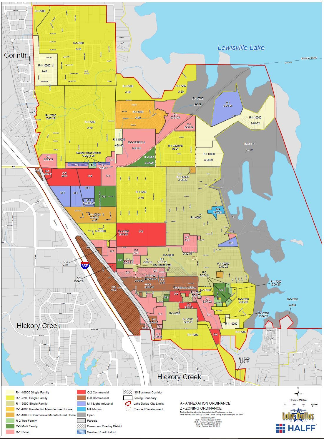 2019 Zoning Map Opens in new window