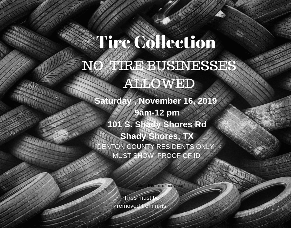 20191116 Tire Collection