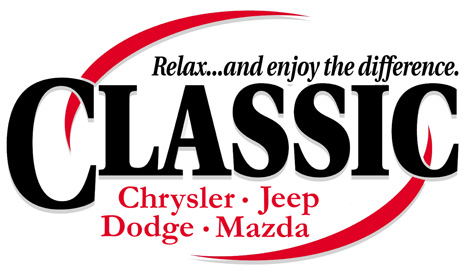 Classic of Denton - Chrysler, Jeep, Dodge, Mazda logo