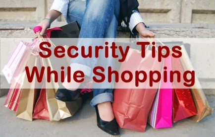 Security Tips While Shopping banner